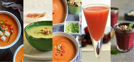 Los cinco gazpachos más buscados de Internet y sus recetas más fáciles y deliciosas