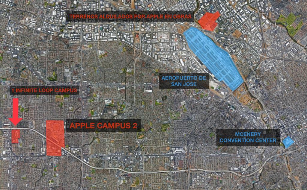 Mapa San Jose