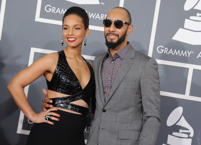 Alicia Keys grammy 2013