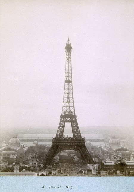 Public Domain Images Eiffel Tower Construction 1800s 0006