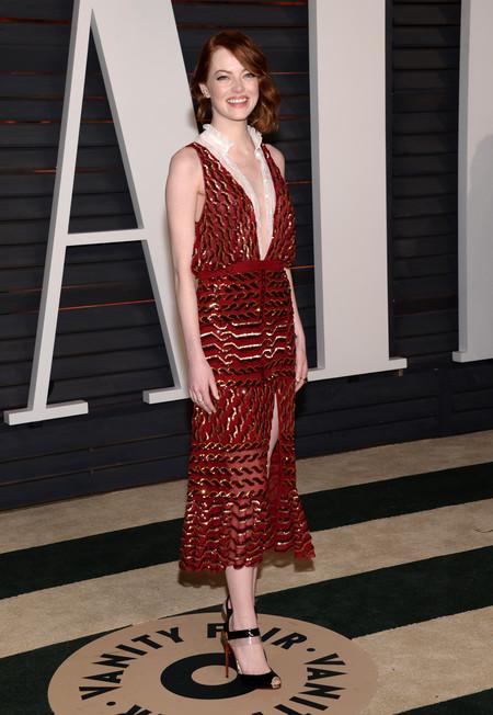 Emma Stone a lo flapper