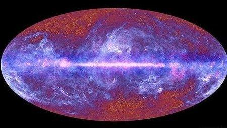 Imagen global del universo conocido gracias a Planck