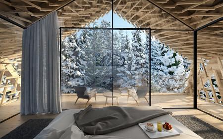 Peter Pichler Architecture Kitzbuhel Tree Suites Interior