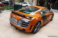 Audi R8 GT en Samoa Orange: espectacular