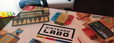 Análisis de Nintendo Labo: Kit variado. No lo llames cartón a 70 euros, llámalo genialidad