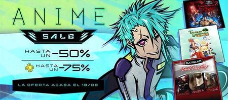 Descuentos en juegos de anime en PSN