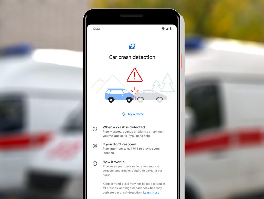 Google incorporará un sistema de llamada de emergencias automático en un accidente de tráfico, pero de momento sólo para los Pixel
