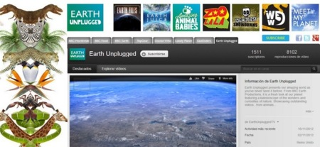 La BBC lanza Earth Unplugged, un canal en YouTube sobre naturaleza con vídeos en HD