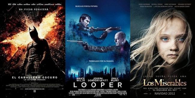 Las mejores y peores películas de 2012