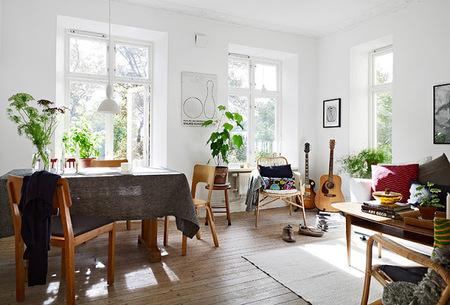 Un agradable apartamento de estilo nórdico