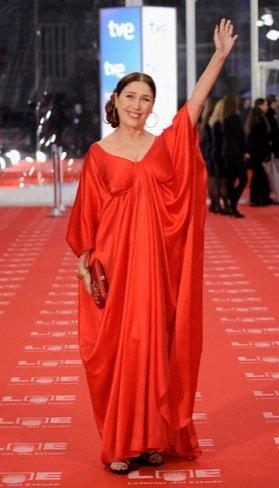 Peor vestidas Goya 2011: Verónica Forqué