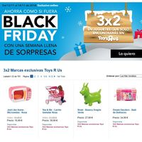 Promoción pre-Black Friday en Toys 'r us: 3x2 en sus marcas exclusivas