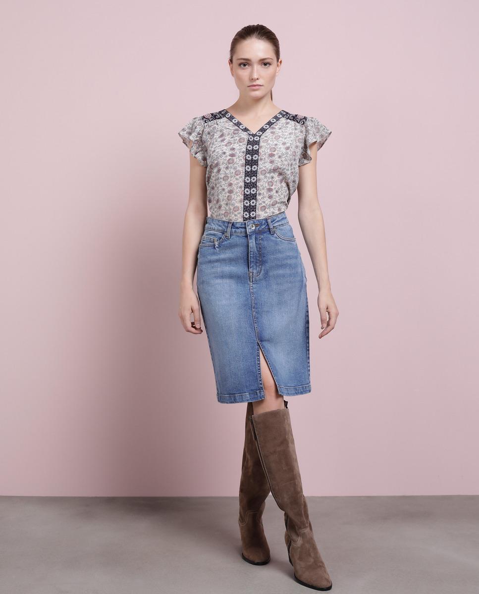 Falda de mujer Southern Cotton denim