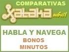 Comparativa tarifas Habla y Navega con bonos de minutos sin establecimiento de llamada