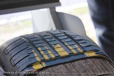 Estructura del neumático Goodyear EfficientGrip Performance