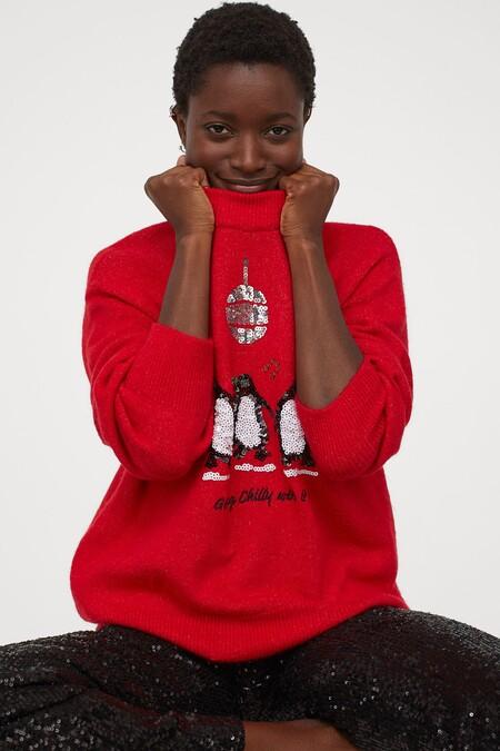 H&M nos propone los 'ugly sweaters' más divertidos que vas a querer llevar esta Navidad