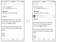 LinkedIn Intro para iOS, tus credenciales de correo a cambio de información sobre tus contactos