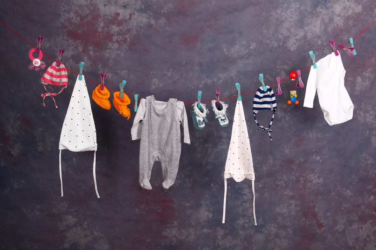 178fed9f6 ¿Cómo lavar la ropa del bebé