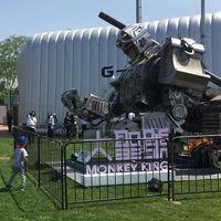 China se une a Japón y Estados Unidos en la primera batalla real entre robots gigantes