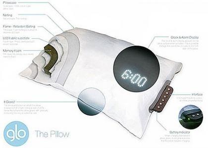 Glo Pillow, te despierta al ritmo del sol