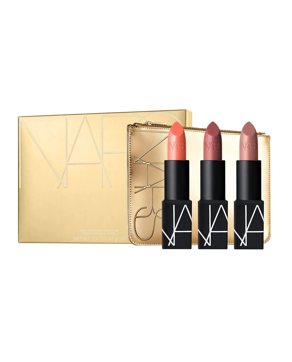 Estuche de regalo Lips Uncesored Lipstick Set Nars