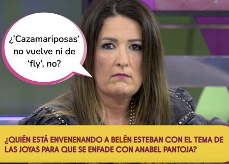 Laura Fa, expulsada de 'Sálvame' por acusar a su director (Alberto Díaz) de malmeter entre Anabel Pantoja y Belén Esteban