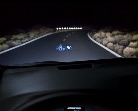Lexus RX 450h HUD