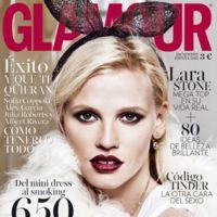Glamour España:  Lara Stone