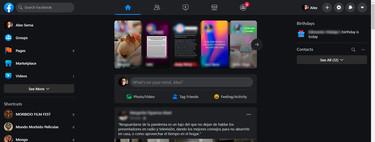 El 'Nuevo Facebook' empieza a llegar a México: un rediseño con modo oscuro incluido y muy parecido a su app móvil