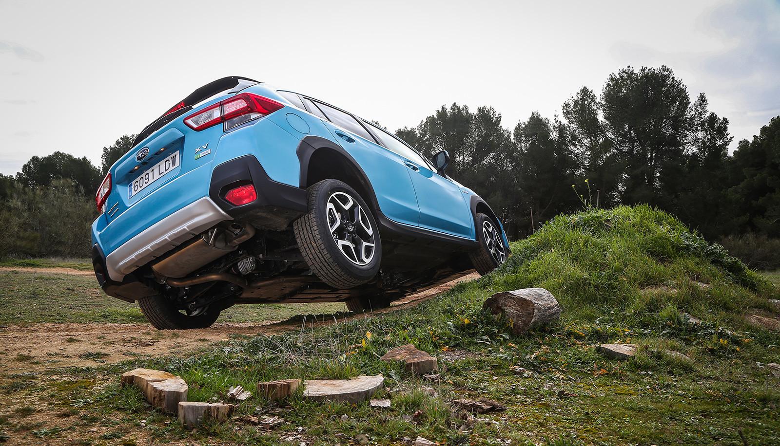 Foto de Subaru XV ECO HYBRID 2020, a prueba (5/35)