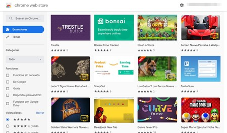 Chrome Web Store Extensiones Google Chrome 202