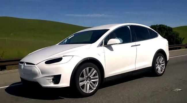 Tesla Model X Pillado