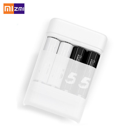 Oferta Flash: cargador de pilas Xiaomi ZMI ZI5, con puerto USB, por 7,78 euros y envío gratis