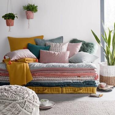 Las colchas, mantas y textiles de otoño que pueden renovar la decoración de casa y están con un 30% de descuento en La Redoute