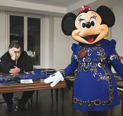 Alber Elbaz para Minnie Mouse