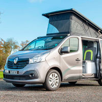Esta Renault Trafic camper viene con cocina, inodoro y espacio para hasta cinco ocupantes, desde 49.465 euros