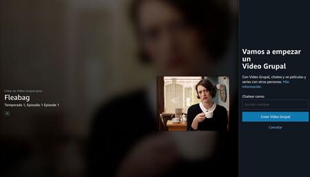 Vídeo Grupal de Amazon Prime Vídeo ya está disponible en España: ya podemos chatear mientras vemos los contenidos compatibles