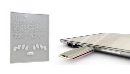 """Blitab tiene listo el primer prototipo de su """"iPad para invidentes"""" con pantalla líquida"""