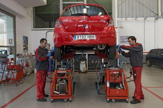 Mantenimiento Toyota Yaris