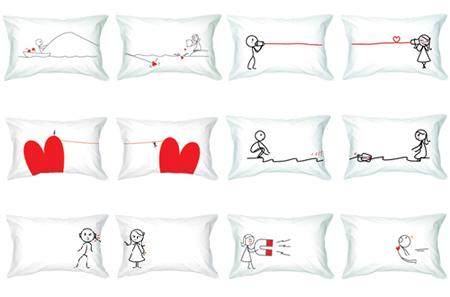 Regalos decorativos para San Valentín: almohadas románticas