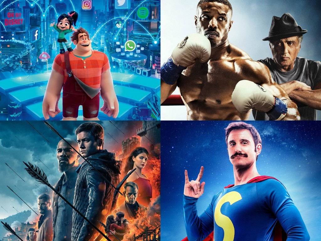 box office: 'Ralph breaks the Internet' and 'Creed II' raze, 'Robin Hood' star and 'Superlópez' triumphs in Spain