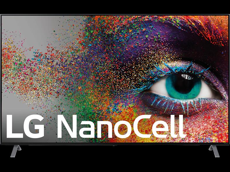 "TV LED 55"" - LG 55NANO906NA, UHD 4K, 3840 x 2160 píxeles, α7 Gen3, HDMI, USB 2.0, LAN, A, Negro"