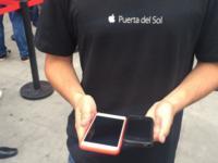 La Apple Store de Puerta del Sol se estrena con el lanzamiento de los iPhone 6