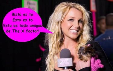 A Britney Spears le han enseñado amablemente donde está la puerta en The X Factor