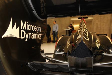 Lotus F1 Team - Microsoft Dynamics