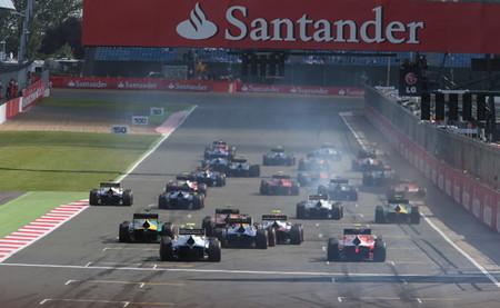 GP2 Salida Silverstone