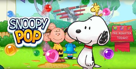 Snoopy Pop, un juego al más puro estilo Puzzle Bobble por una buena causa