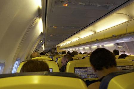 Avión en emergencia