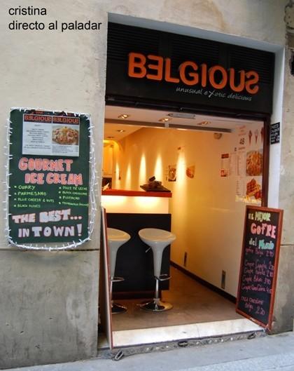 Helados gourmet en Belgious, Barcelona
