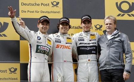 Robert Wickens triunfa por primera vez en el DTM en Nürburgring